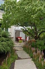 this small front patio and pergola in lancaster ma provides a