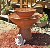 DIY Fountain Ideas | DIY Garden Ideas | Pinterest