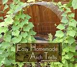easy homemade arch trellis gardening goddess growing sq ft