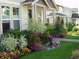 Best flower garden and landscaping ideas for small front yard
