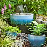 how to make a simple yet beautiful garden fountain diy hacks 24 7