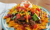 daily dinner idea taco salad the nest blog
