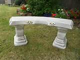 garden benches stone