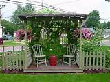 diy garden ideas | DIY Garden Ideas / I should do this little enclave ...