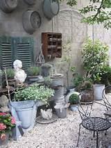 minimalist shabby chic garden ideas