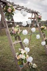 rustic country outdoor wedding arch ideas