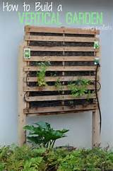 how to build a vertical garden using pallets - Garden Ideas Using Pallets