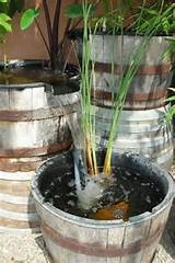 Ponds and fountains: Barrel fountain - SunlandWaterGardens.com - Pond ...