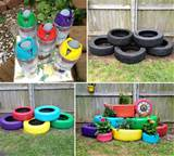 How to Make Recycled Tires Garden Planter - DIY & Crafts - Handimania
