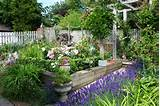 take a trip down memory lane in this cute cottage garden