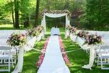 spring summer outdoor wedding inspiration soundsurge entertainment