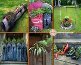 Gardening Ideas - log planter | Gardenology | Pinterest