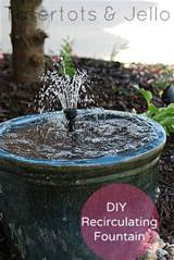 How To Make A DIY Recirculating Fountain