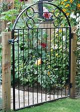 Garden Gate & Trellis - powder coat finish. More pics below.