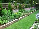 bordure de jardin en pav s id e originale pour d limiter les
