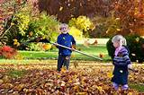 Children Fall Gardening