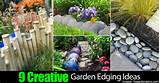 Creative Garden Edging Ideas -