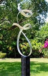 Outdoor Metal Art Modern Designs Garden Sculpture Allure / By Jon ...