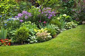 perennial flower garden design ideas