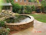 Raised preformed fibreglass atlantis pond - Koi Water Garden