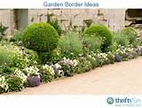 garden border ideas thriftyfun