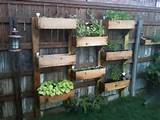 Vertical Wooden Box Planter | The Owner-Builder Network