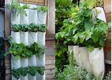 image of fabric vertical vegetable gardening ideas flower