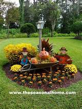 fall yard decorations thanksgiving fall pinterest