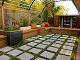 pergolas outdoor spaces patio ideas decks gardens hgtv