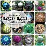 Garden Balls: Gallery of Creative Ideas - Empress of Dirt