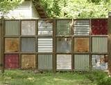 privacy screen garden ideas pinterest