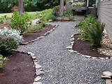 Easy and cheap crushed rock pathway with rock edging | Hardscapes ...