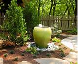 looking at water fountain ideas gardens pinterest