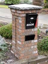 Brick Mailbox | Exterior Improvements | Pinterest