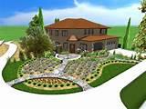 modern landscape design front yard garden design ideas