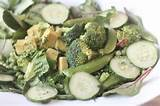 healthy salad idea green goddess salad salads pinterest