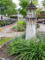 early spring lighthouse garden garden ideas pinterest