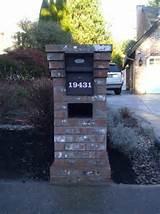 Brick Mailbox | Beautiful Homes Design
