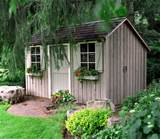 your own garden shed helps increase storage for tools and outdoor ...