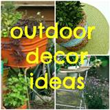few pretty things: Outdoor decor ideas