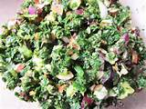 you for this super healthy marinated kale salad it tastes awesome