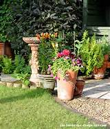 decorative clay garden planter ideas