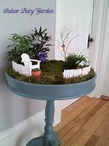 create your own indoor fairy garden gardens ideas crafts ideas