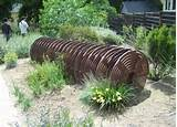 garden art, metal garden sculpture, drought-tolerant landscape design ...