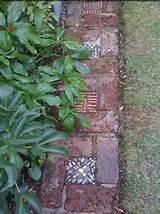 garden path with bricks garden ideas pinterest