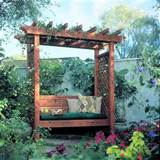 Garden Arbor Bench Project - Planet Z