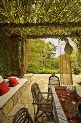 Patio, Covered, Cozy, MediterraneanPergola and Patio CoverLandscaping ...