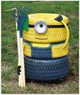 24 DIY Tire Projects- Creatively Upcycle and Recycle Old Tires Into a ...