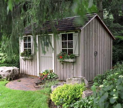 Grow Your Garden's Appeal with a Splendid Shed