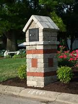 Brick mailboxes can add a unique touch to your home.